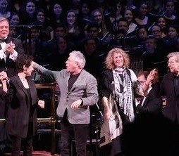Carnegie Hall with Jason Robert Brown, Stephen Flaherty and Lynn Ahrens, Alan Menken, Lucy Simon, Maury Yeston, and Allan Corduner