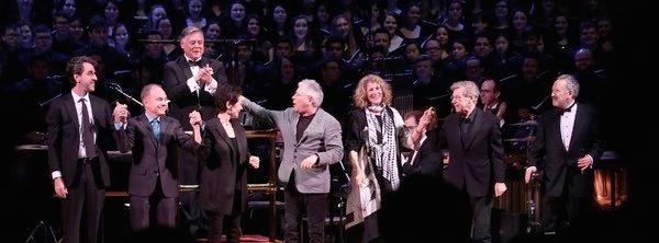 Carnegie Hall with Jason Robert Brown, Stephen Flaherty and Lynn Ahrens, Alan Menken, Lucy Simon, Maury Yeston, and Allan Corduner